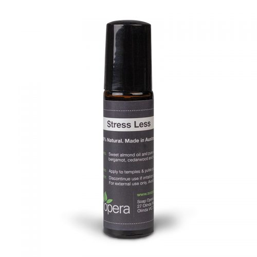 Stress Less Bergamot Cedarwood Lemon